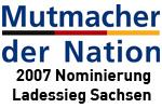 Nominierung Mutmacher der Nation 2007 (Sachsen)