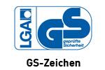 Zertifiziert: GS-Zeichen für ausgewählte Produkte