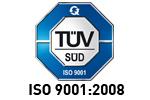 Zertifiziert: TÜV ISO 9001:2008